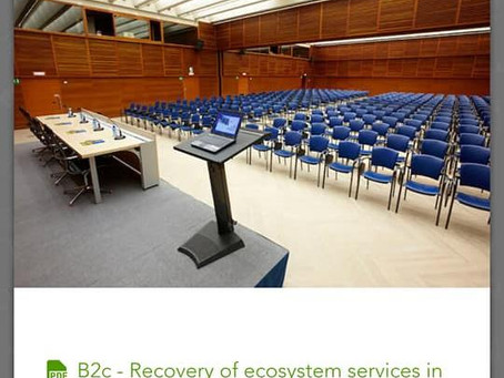 Ecosystem Services Partnership European Regional Conference