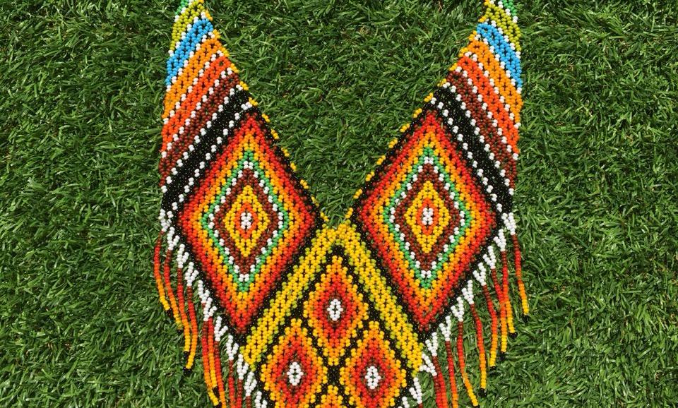 Pectoral Embera Rombo