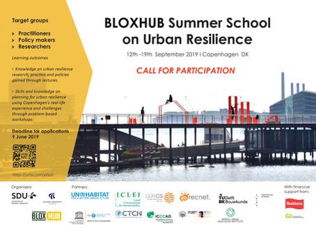 BLOXHUB Summer School on Urban Resilience