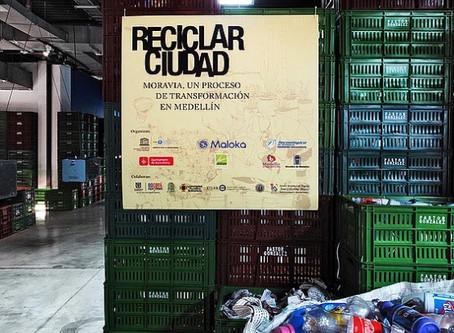 Exposición Reciclar Ciudad en Medellín