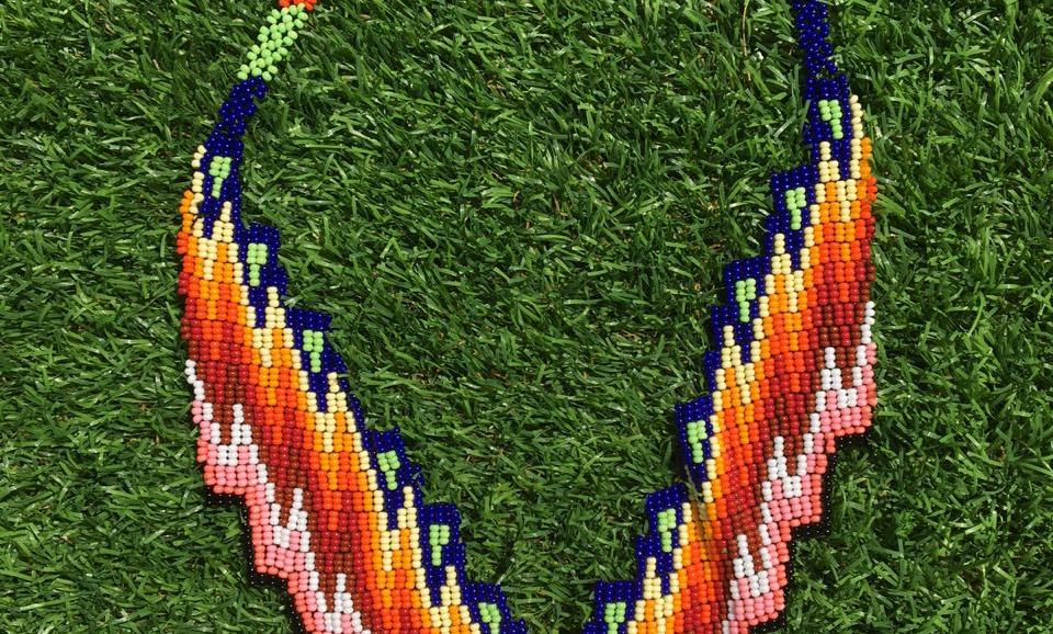 Collar Embera escalera