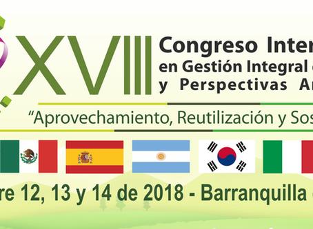 XVIII Congreso Internacional en Gestión Integral de Residuos