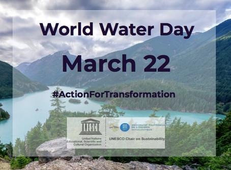 UNESCO celebrates the #WorldWaterDay