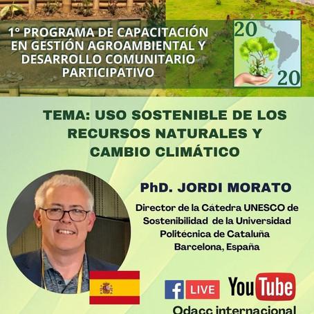 UNESCOSOST and ODACC Internacional: an alliance for virtual environmental training