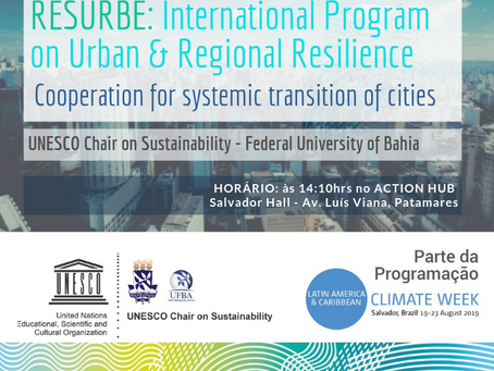 RESURBE program at LAC Climate Week