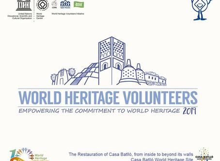 Casa Batlló se une al Programa de Voluntarios del Patrimonio Mundial de la UNESCO
