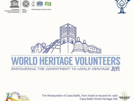 Casa Batlló joins the UNESCO World Heritage Volunteer Program