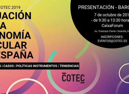 Presentación del Informe COTEC Economía Circular 2019