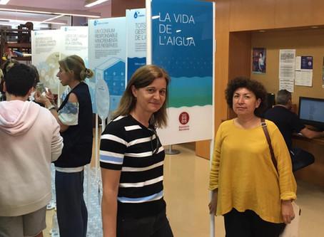 """120 estudiants a Olesa deMontserratrecorren l'exposició """"La Vida de l'Aigua"""""""