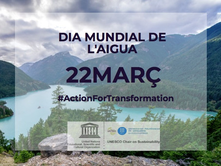 UNESCO celebra #DiaMundialAigua