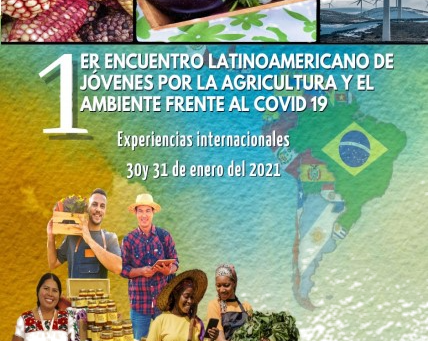 First Latin American meeting of young people for agriculture and the environment against COVID19.