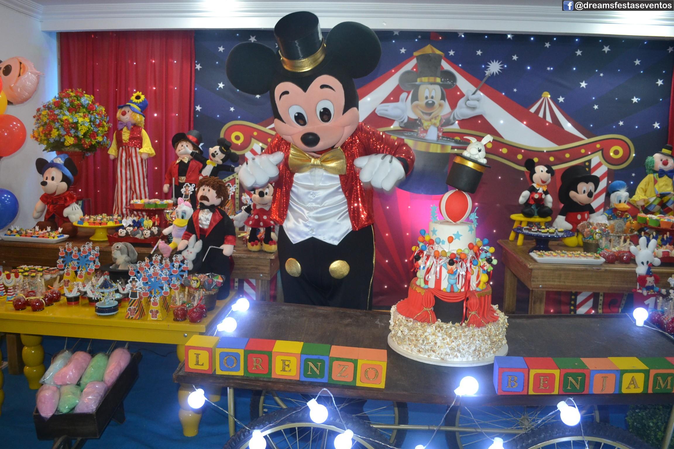 Mickey Mágico (Circo)