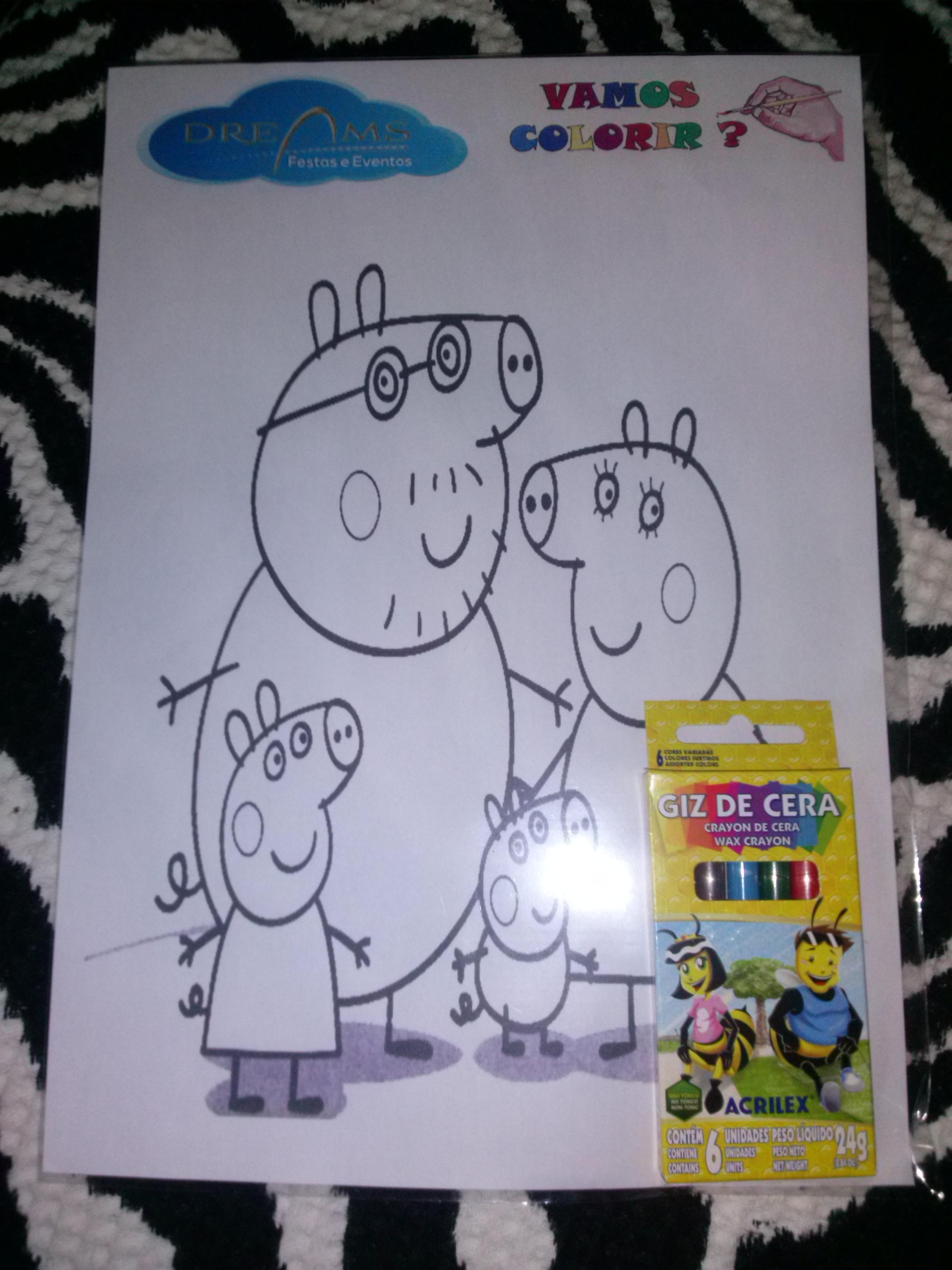 Kits de pintar vários temas infantis