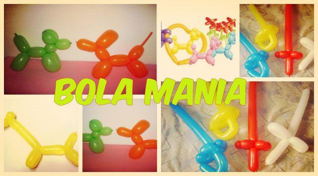 Bola Mania - Esculturas em balões
