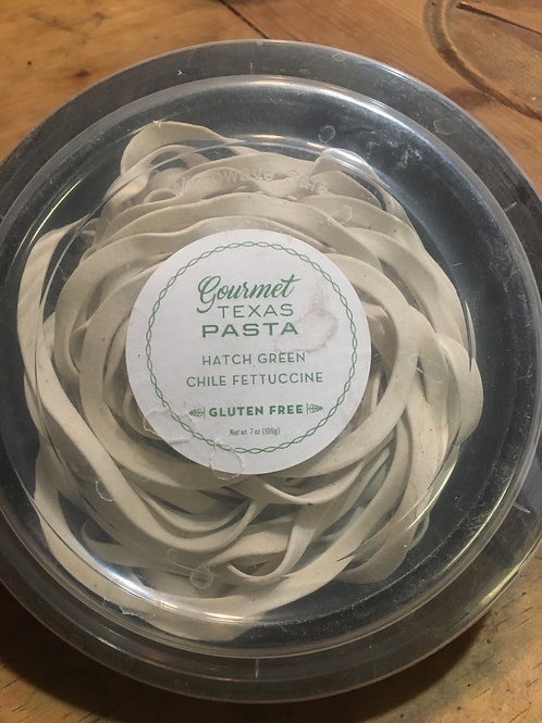 Gluten Free Hatch Green Chile Fettuccine