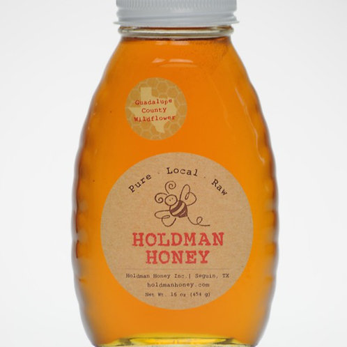 16 oz. Guadalupe County Wildflower Honey