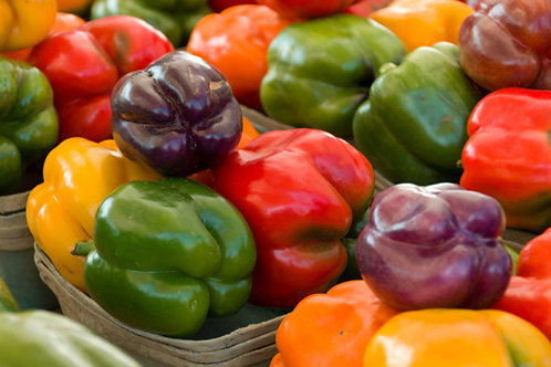 Assorted Colored Bell Peppers