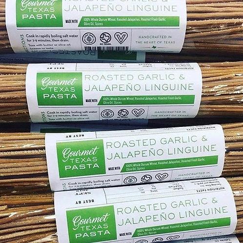Roasted Garlic & Jalapeno Linguine