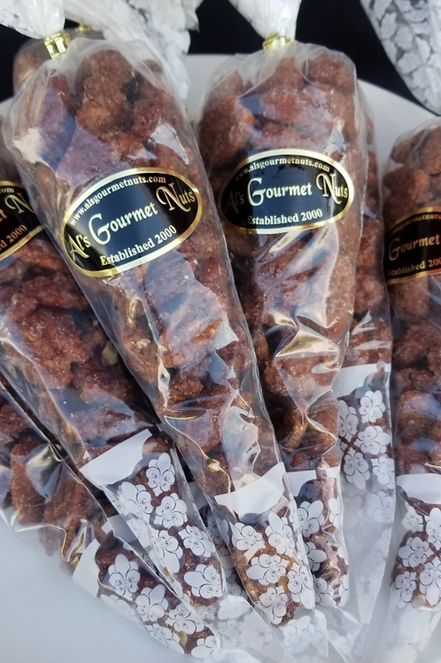 Cinnamon Candied Almonds 7oz.