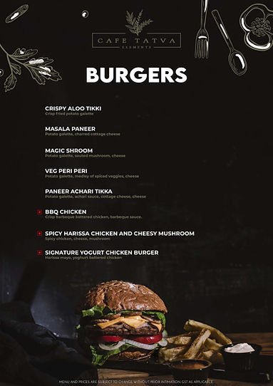 4- Menu Pic CafeTatva without price menu