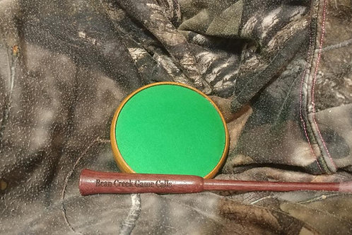 Green Anodized Aluminum Cherry Pot Call