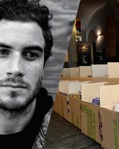 Nicolas Jaar dona parte della sua collezione privata di dischi a Torino