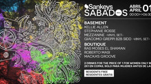 SANKEYS SABADO · SANKEYS IBIZA