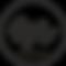 Logo Crop Radio solo R Nero.png