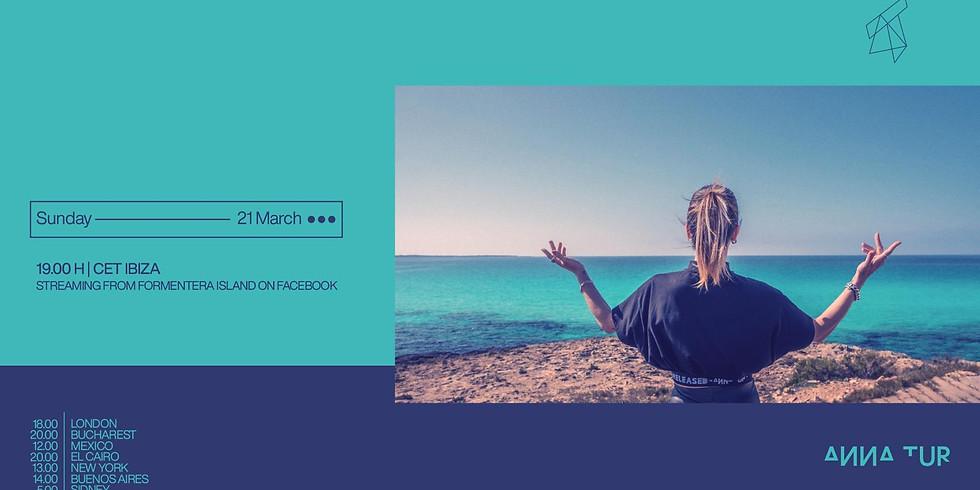 Anna Tur live stream from Formentera Island