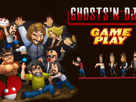 "GHOSTS'N DJS: IL VIDEO GAME CONTRO i ""FAKE DJS"""