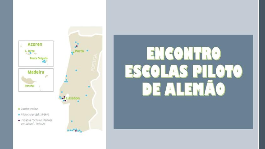 ENCONTRO ESCOLAS PILOTO DE ALEMÃO - COMUNICAÇÃO DA DIRETORA DA FERNÃO