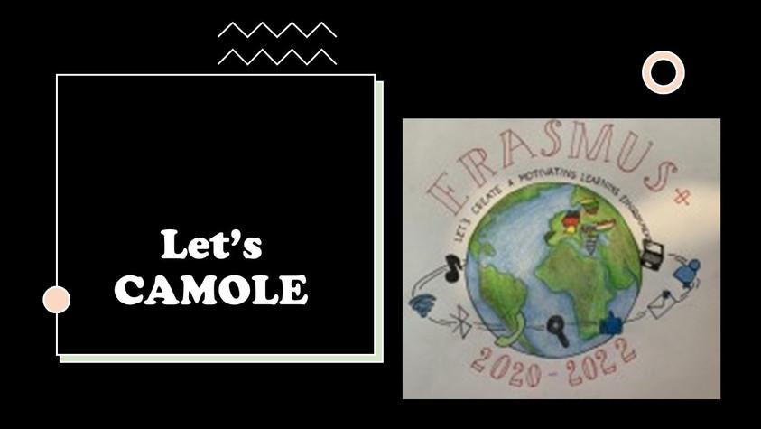 Let's CAMOLE já tem logotipo