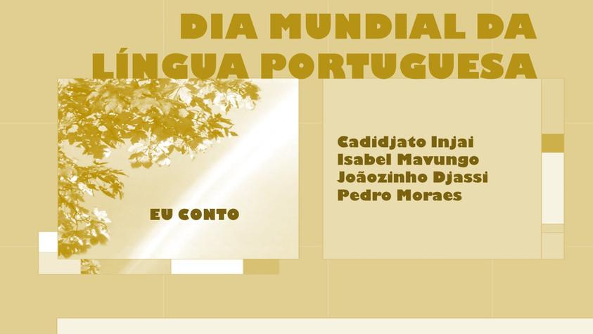 EU CONTO - DIA MUNDIAL DA LÍNGUA PORTUGUESA