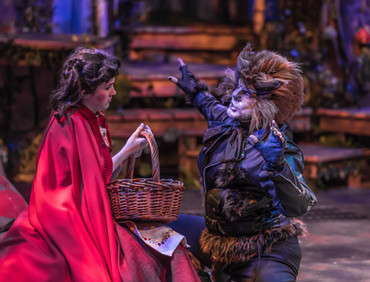 The Wolf in Into The Woods