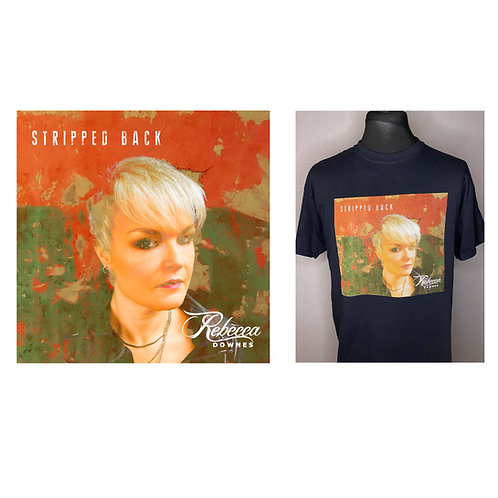 Stripped Back Album and T Shirt Bundle