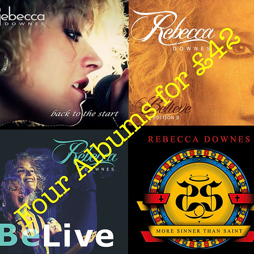 Package Deal 3 - All Four CD Albums
