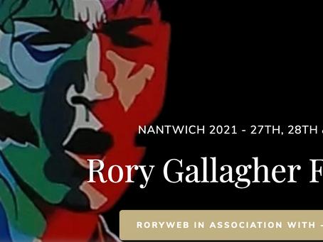 Rory Gallagher Festival UK (Nantwich) 2021