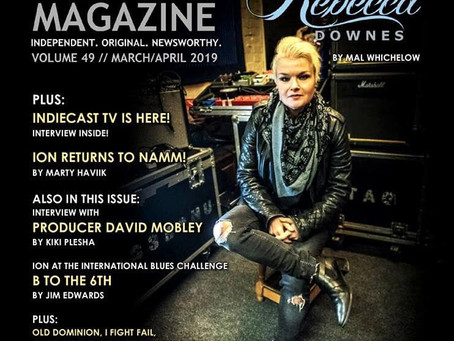 On the Cover of ION Indie Magazine