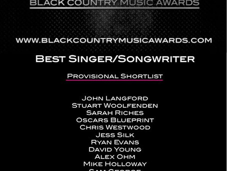 Nominated in the Black Country Music Awards 201