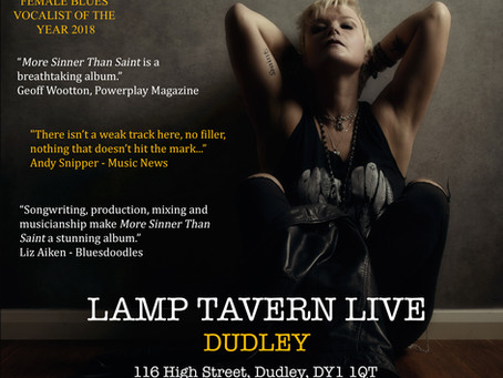 Gig at Lamp Tavern Live, Dudley Rescheduled to Friday 10 September 2021