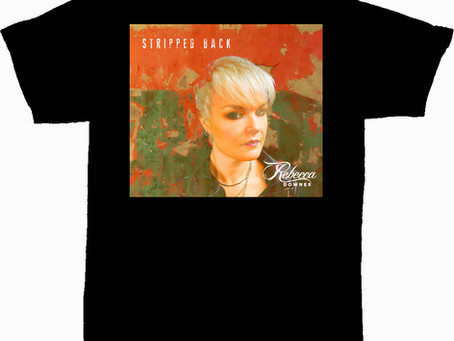 Stripped Back T Shirt - All Sizes Now In Stock