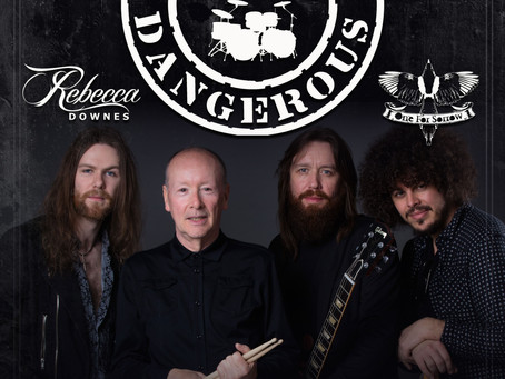 November 7 - Support to Brian Downey's Alive and Dangerous at The Underworld, Camden