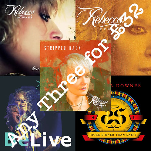 Package Deal 2 - Any Three CD Albums