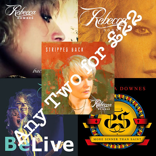 Package Deal 1 - Any Two CD Albums