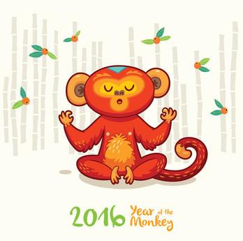 2016 année du singe de feu
