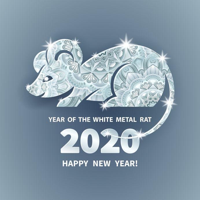 Feng shui 2020 année rat métal yang Geng Zi
