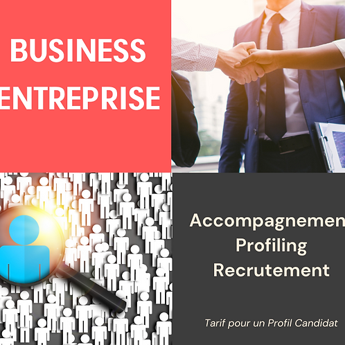 Business - Accompagnement Profiling Recrutement