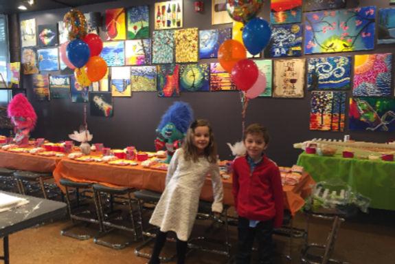 SwirlNJoy Birthday Parties