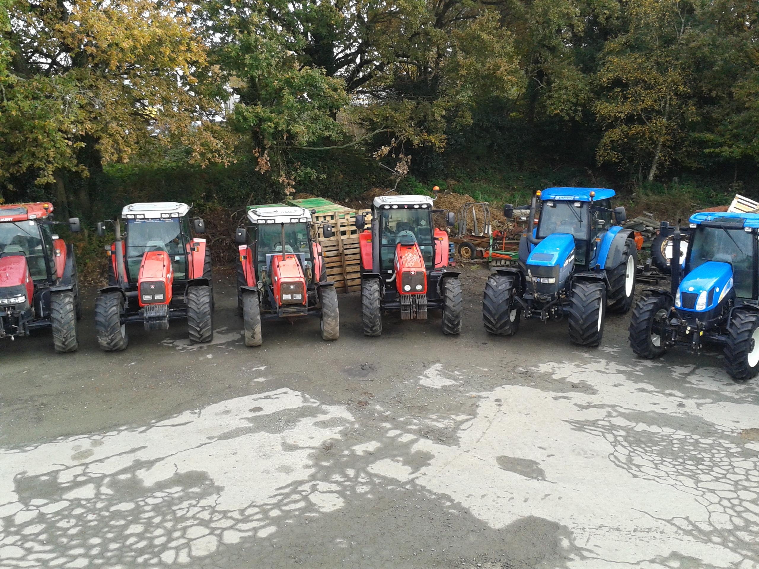 Tracteurs grosse, moyenne puissance