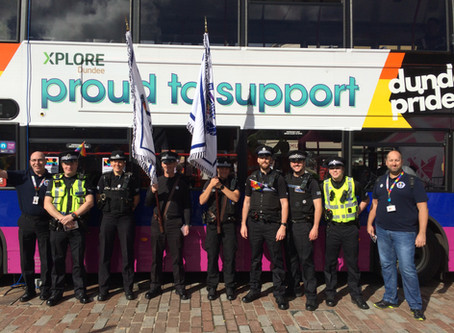 Association takes part in 1st Dundee Pride